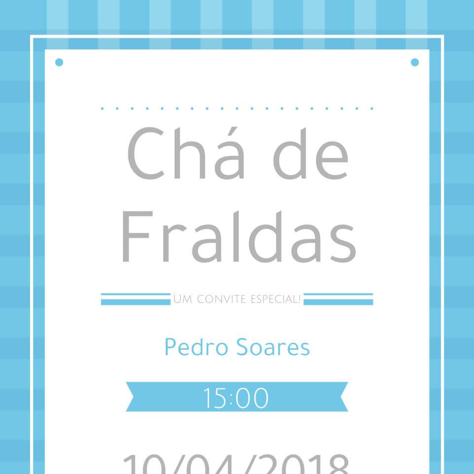 Convites De Cha De Bebe Editaveis Gratuitos Eunenem